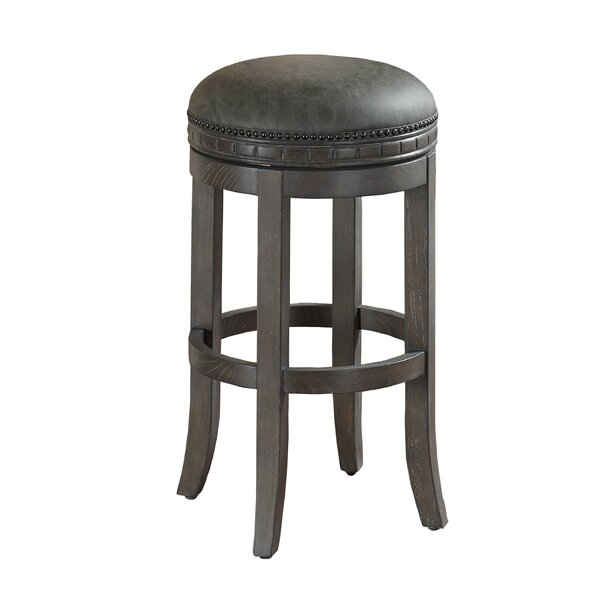 Bulwell 26 Swivel Bar Stool by Darby Home Co