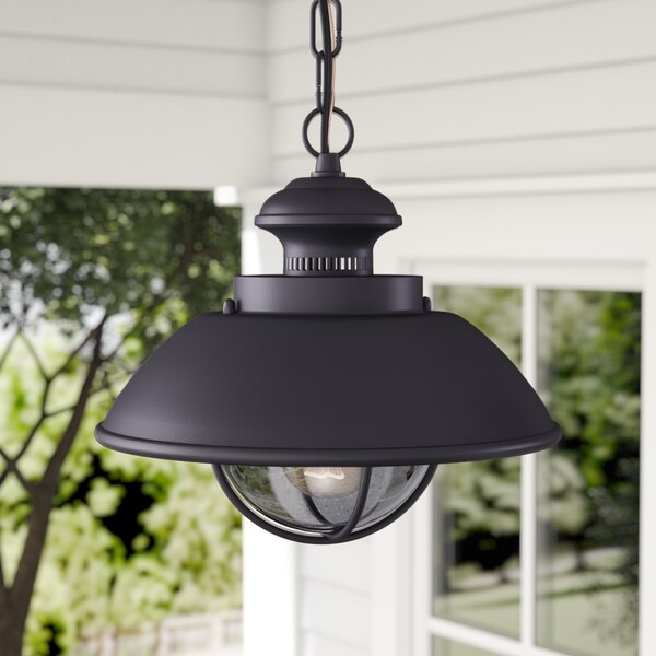 Inglewood 1-Light Outdoor Hanging Lantern by Laurel Foundry Modern Farmhouse