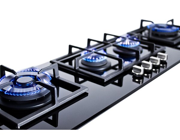 Summit 43 Gas Cooktop with 4 Burners by Summit Appliance