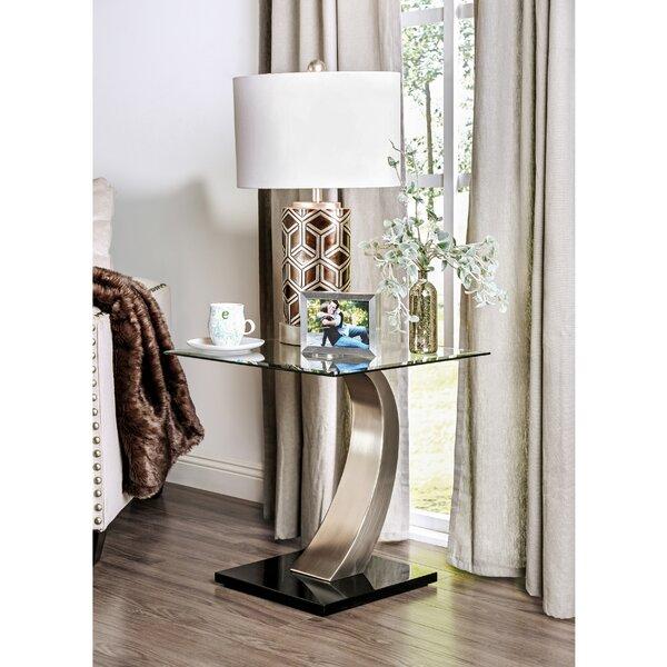 Natalia End Table by Hokku Designs