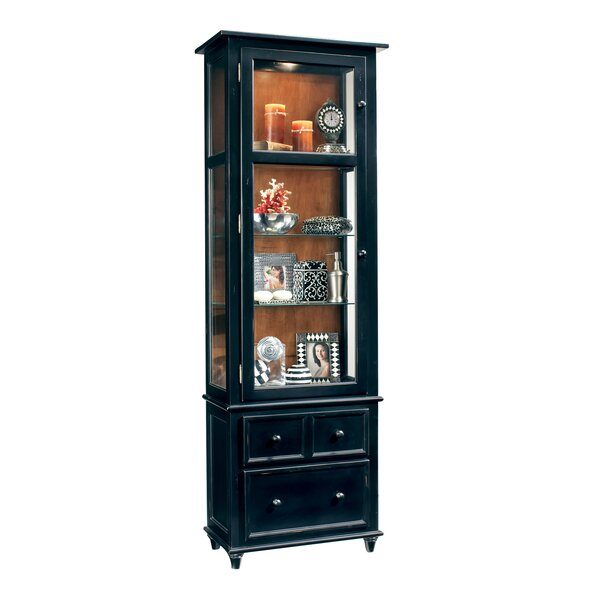 Shelia Lighted Curio Cabinet By Darby Home Co 2019 Sale