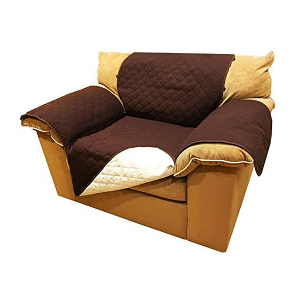 Pet Fur Protection Box Cushion Armchair Slipcover by Red Barrel Studio