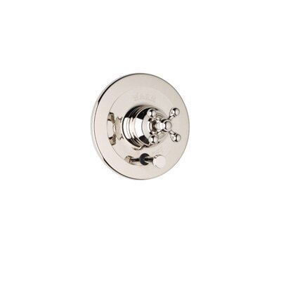 Pressure Balance Diverter Faucet Shower Faucet Trim Only with Cross Handle by Rohl