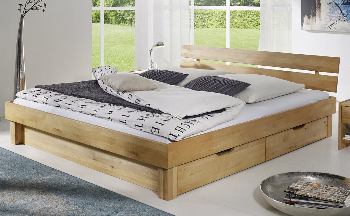 sam stil art m bel gmbh massivholzbett canyon mit stauraum bewertungen. Black Bedroom Furniture Sets. Home Design Ideas