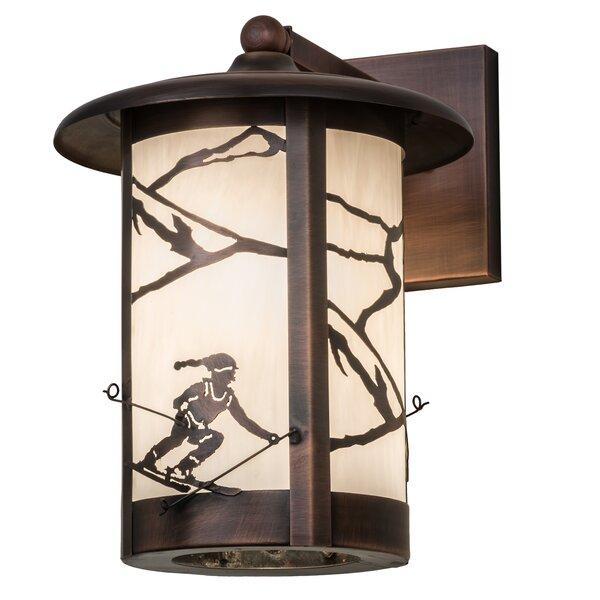 Zeringue Outdoor Wall Lantern by Loon Peak