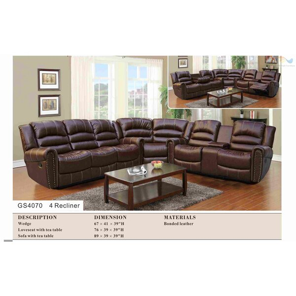 #2 Borger 3 Piece Reclining Living Room Set By Red Barrel Studio Today Only Sale