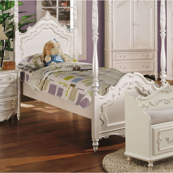 Eckenrode Four Poster Bed by Harriet Bee