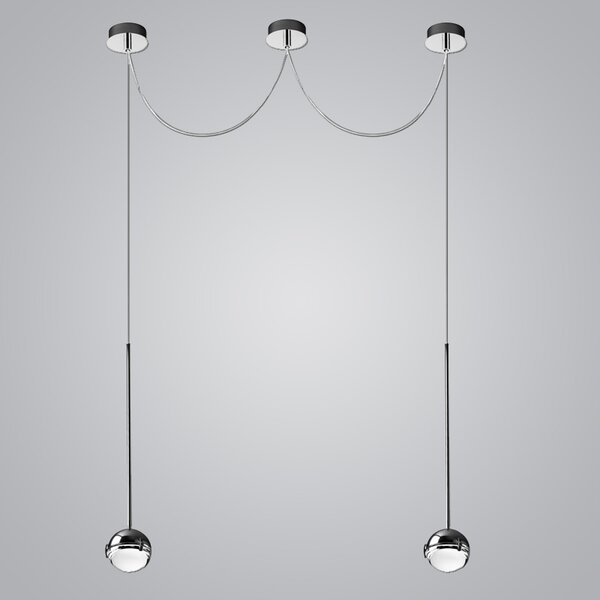 2-Light  LED  Pendant by ZANEEN design