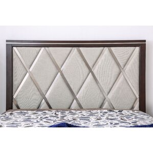 Lonny Contemporary Panel Headboard by Latitude Run