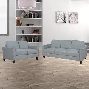 Braelee 2 Piece Living Room Set by Red Barrel Studio®