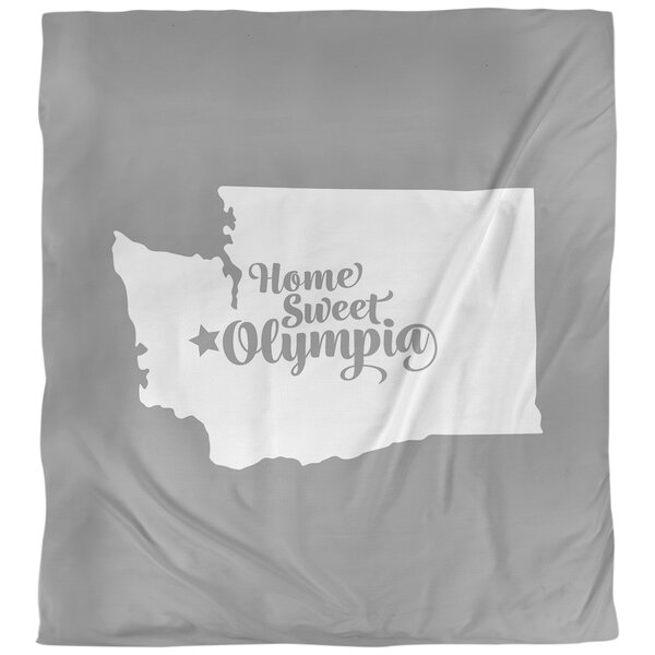 Olympia Washington Single Reversible Duvet Cover