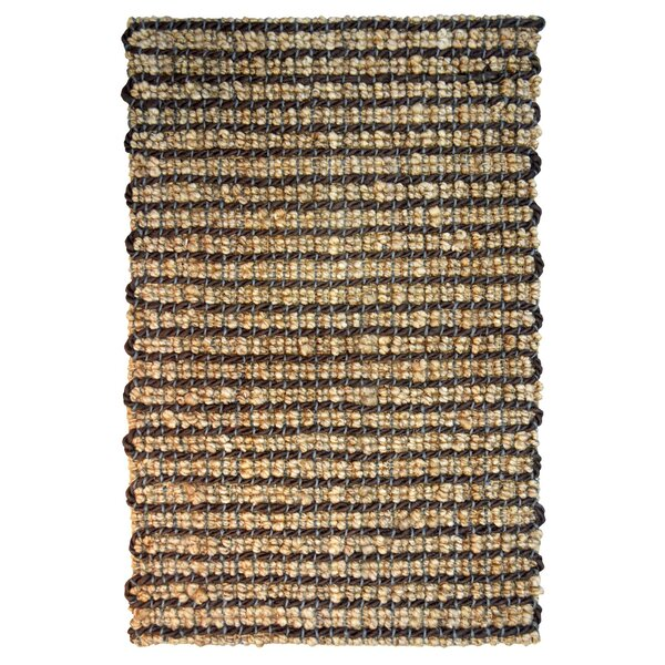 One-of-a-Kind Payne Hand-Woven Brown Indoor/Outdoor Area Rug by Bay Isle Home