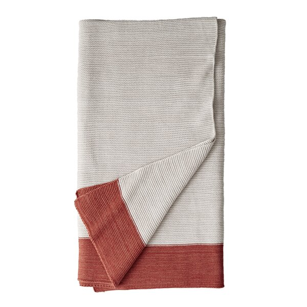 Ginger Marled Knit Throw by DwellStudio