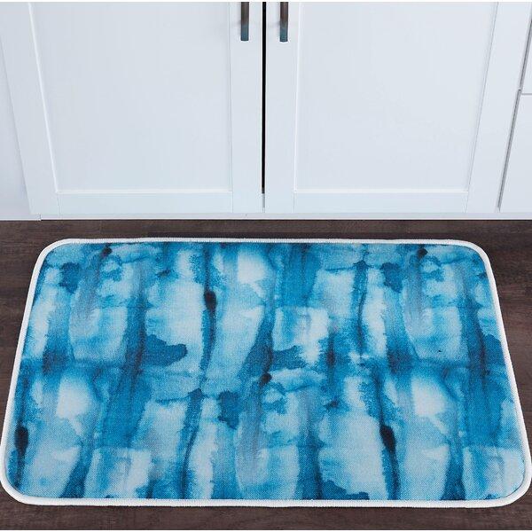Knepp Tie Dye Foam Core Bath Rug by Zipcode Design