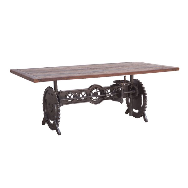 Claussen Steam Solid Wood Dining Table by Gracie Oaks