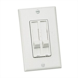 Three Speed Slide Dual Ceiling Fan Wall Control