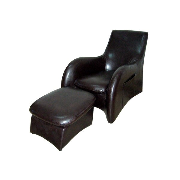 Armchair And Ottoman By ORE Furniture