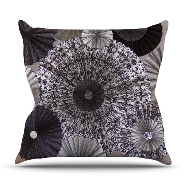 Shadows by Heidi Jennings Outdoor Throw Pillow by East Urban Home