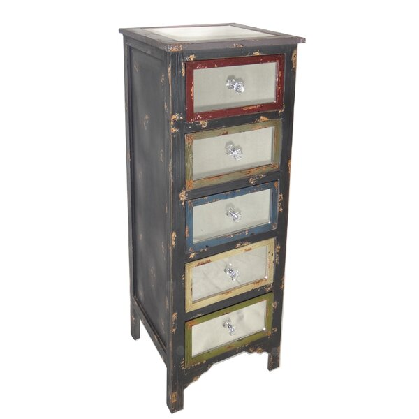 Cheungs Tall Wood Cabinet With Mirror Top And Mirrored Drawers U0026 Reviews    Wayfair