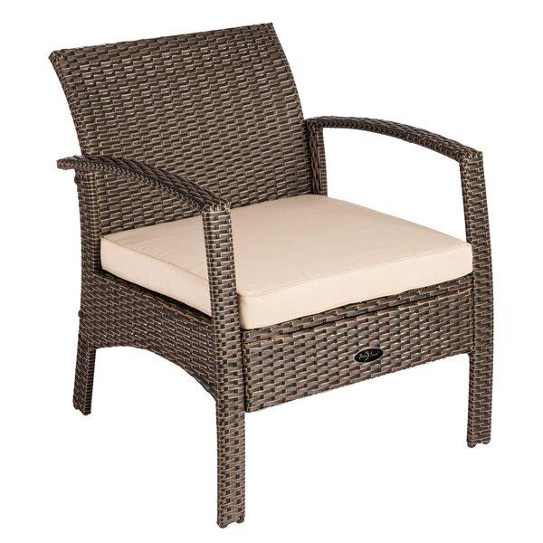 Bondi Outdoor Patio Chair With Cushion By PatioSense