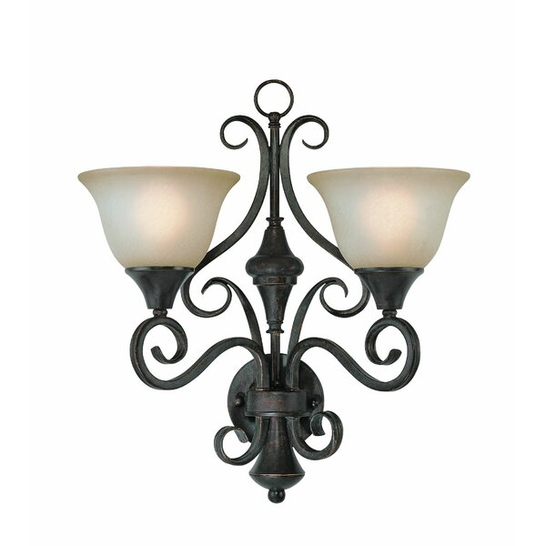 Wiliams Traditional 2-Light Vanity Light by Fleur De Lis Living