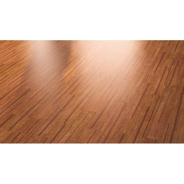 Cork Essence 5-1/2 Cork Flooring in Lane Chestnut by Wicanders