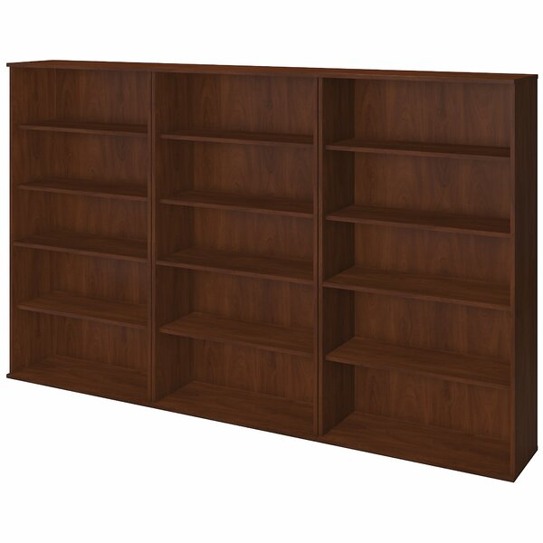 Storage Wall Oversized Set Bookcase by Bush Busine