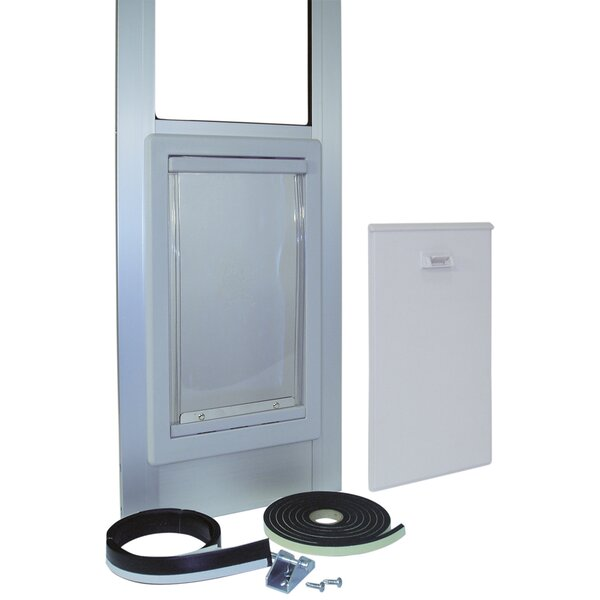 Extra Large Tall Pet Door by Ideal Pet Products