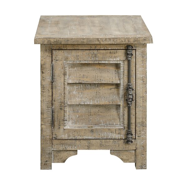 Clintwood End Table With Storage By Three Posts