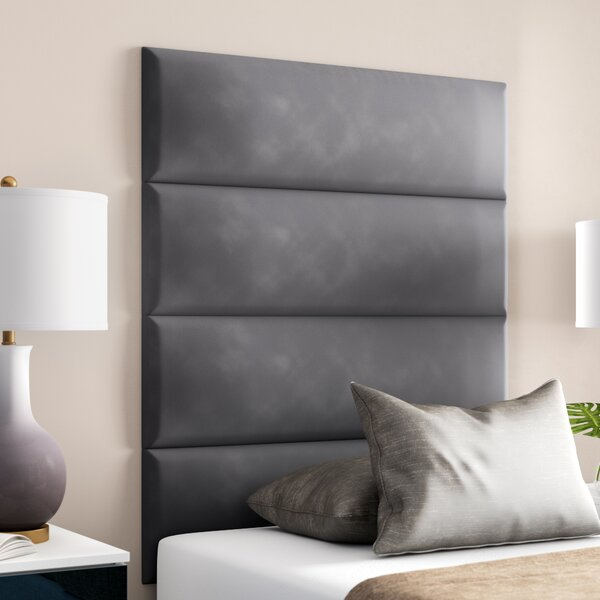 Bernardsville Upholstered Headboard Panels (Set of 4) by Wade Logan