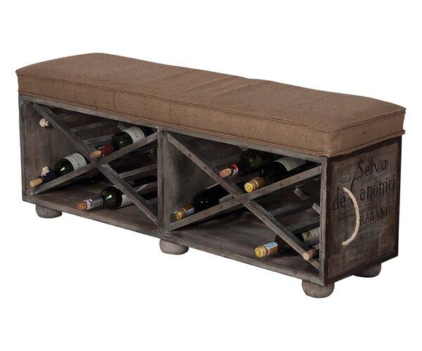 Avon Guild Wood Storage Bench by 17 Stories