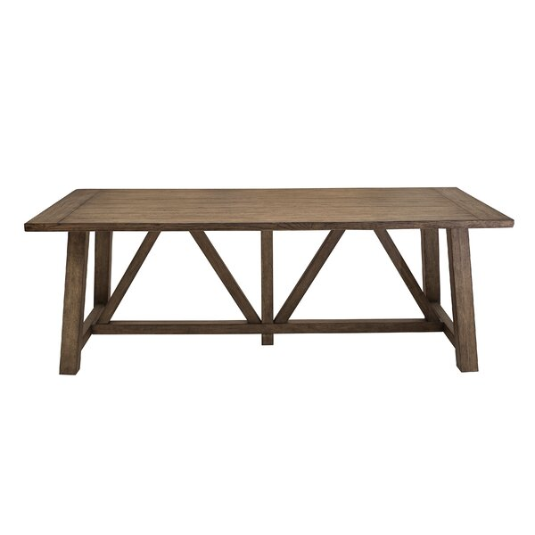 Best Choices Woodworth Trestle Dining Table By Gracie Oaks Herry Up