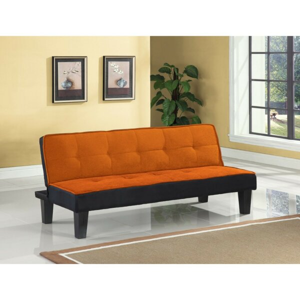 Coots Button Upholstered Adjustable Sofa by Ebern Designs