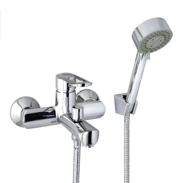 European Style Tub and Shower Mixer with Single Ha