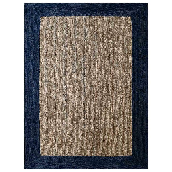 Housel Hand-Woven Beige/Blue Indoor/Outdoor Use Area Rug by Ebern Designs