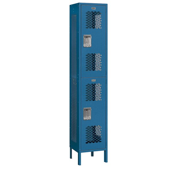2 Tier 1 Wide Gym Locker by Salsbury Industries