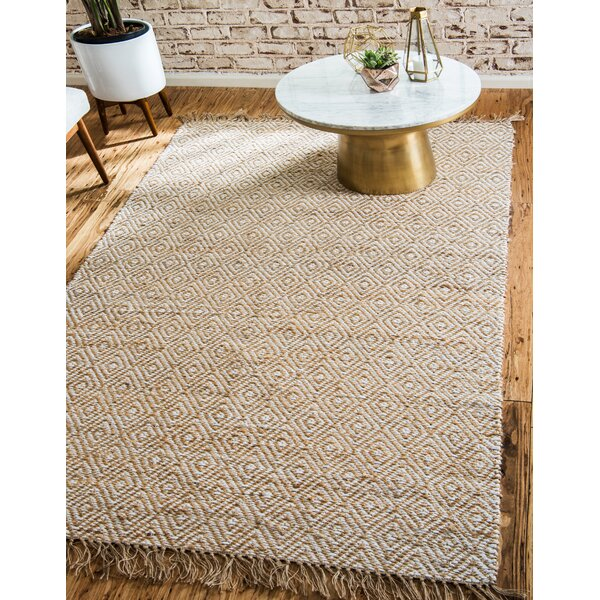 Deziree Hand-Braided Natural Area Rug by Mistana