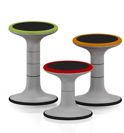 12 Plastic Classroom Stool by MiEN