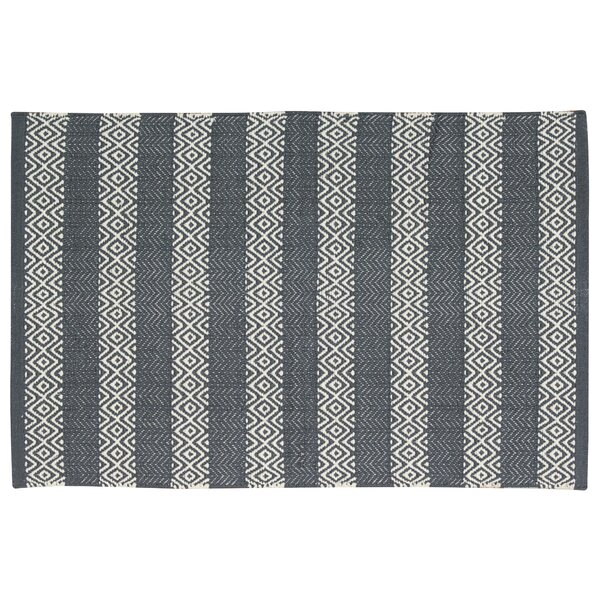 Arapaho Gray Area Rug by Bungalow Rose