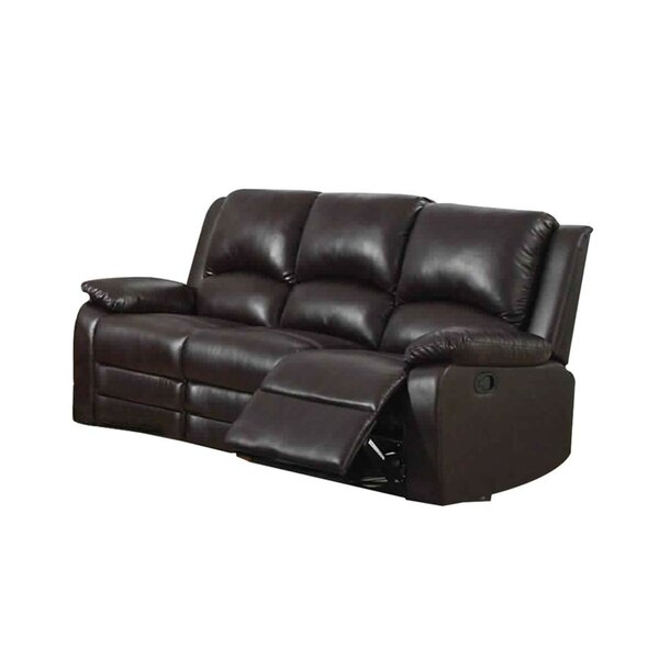 Garduno Leatherette Motion Reclining Sofa By Red Barrel Studio