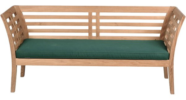 Fleischer Teak Garden Bench by Bloomsbury Market