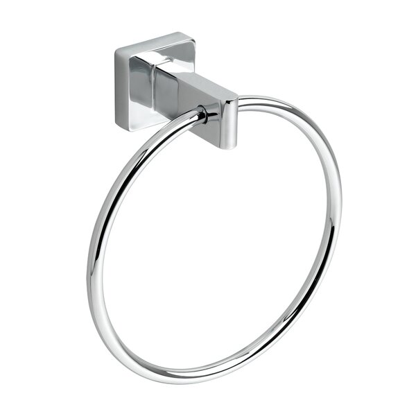 Universal 7.13 Concealed Mounted Square Towel Ring by American Standard