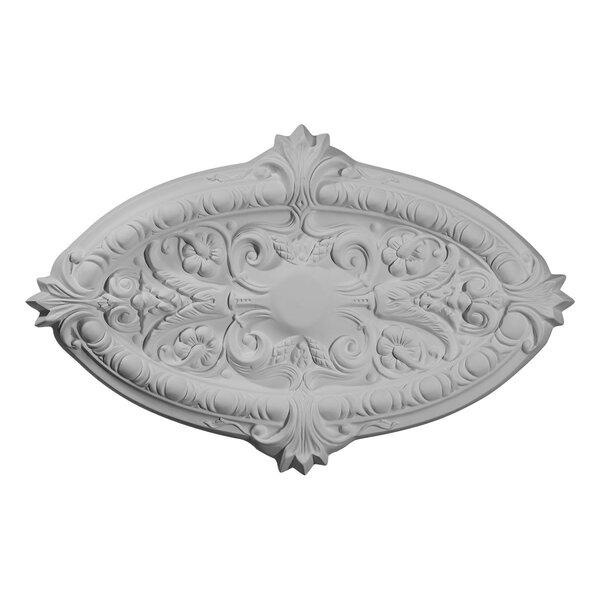 Marcella 17 1/4H x 26 3/8W x 1 3/4D Ceiling Medallion by Ekena Millwork