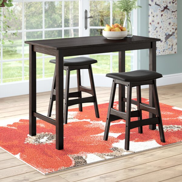 Nhien 3 Piece Counter Height Pub Table Set By Red Barrel Studio Best