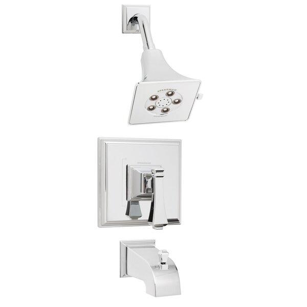 Shower Combinations: Non-diverter Valve & Diverter Tub Spout by Speakman