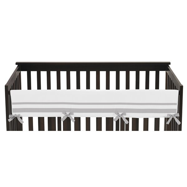 Hotel Long Crib Rail Guard Cover by Sweet Jojo Des