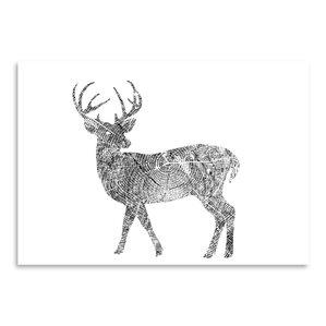 Deer Wall Art deer wall art | wayfair