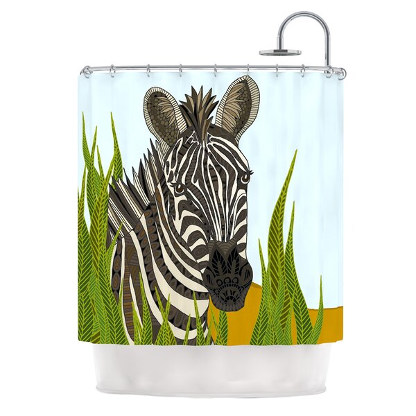 Zebra by Art Love Passion Shower Curtain by East Urban Home
