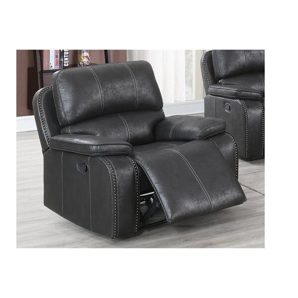 Amonda Faux Leather Manual Glider Recliner W003506388