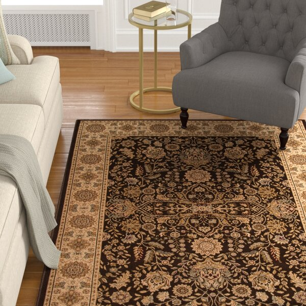 Mira Monte Brown Area Rug by Astoria Grand